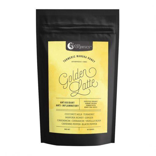 Nutra Organics Golden Latte (Turmeric & Manuka Honey - Ayurvedic Chai) 500g Powder