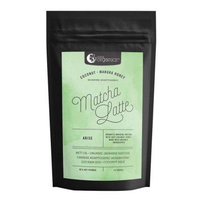 Nutra Organics Matcha Latte (Coconut & Manuka Honey - Morning Adaptogenic) 90g