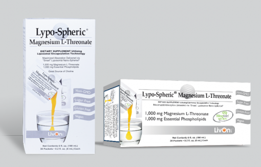 LIVON LABORATORIES Lypo-Spheric Magnesium L-Threonate 30 sachets